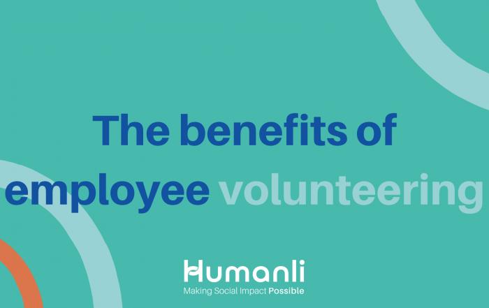 The benefits of employee volunteering