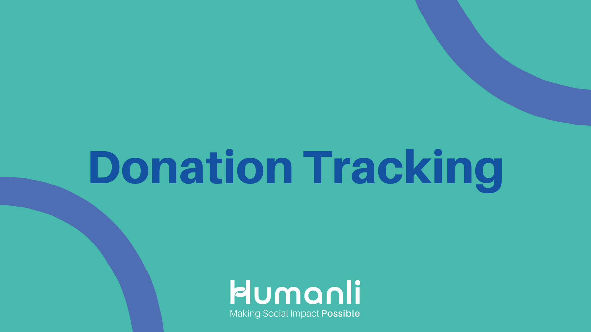 Donation Tracking